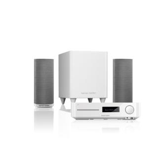 Home cin ma harman kardon bds 370 w blanc 2 1 3d cha ne home cin ma - Home cinema 2 1 blanc ...