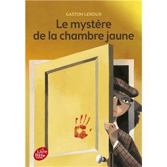 Le myst re de la chambre jaune poche gaston leroux achat livre prix - Mystere de la chambre jaune ...