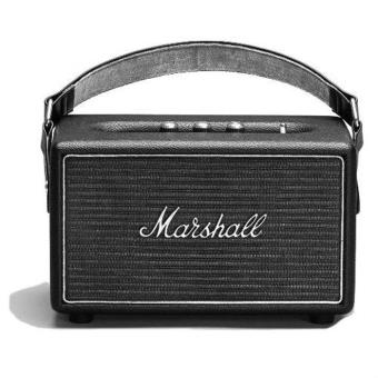 enceinte bluetooth marshall kilburn steel edition mini. Black Bedroom Furniture Sets. Home Design Ideas