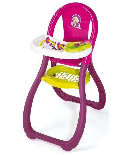 Jolie à croquer la poussette Masha conçue par Smoby, est une réplique réussie d´une poussette moderne. Facile à pousser grâce à ses 4 roues, elle sera parfaite pour les enfants à partir de 18 mois.