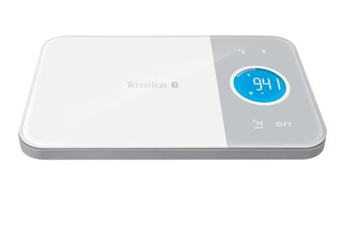Balance de cuisine connectée Bluetooth Terraillon Nutritab Blanc pour 52€