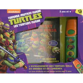 Les tortues ninja un livre pop up et une lampe torche - Les nom des tortues ninja ...