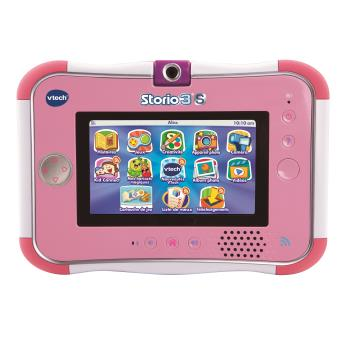tablette ducative storio 3s vtech rose tablettes. Black Bedroom Furniture Sets. Home Design Ideas