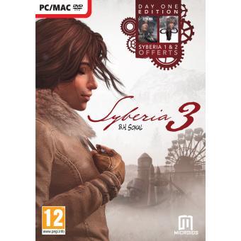 Sybéria 3 Edition Day One PC