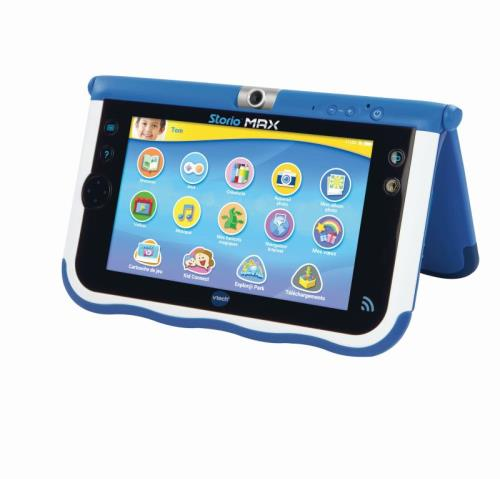 tablette ducative storio max vtech bleue tablettes educatives acheter sur. Black Bedroom Furniture Sets. Home Design Ideas