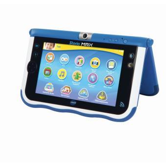 Tablette ducative storio max 7 39 39 vtech bleue tablettes for Housse storio max 7