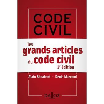 Les grands articles du code civil edition 2014 broch alain b nabent den - Article 815 5 1 du code civil ...