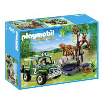 playmobil 5416 wild life v hicule d 39 exploration avec. Black Bedroom Furniture Sets. Home Design Ideas