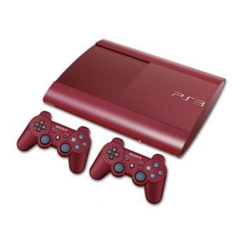 Console sony ps3 ultra slim 500 go rouge 2 manettes - Ma ps3 ultra slim ne lit plus les jeux ...
