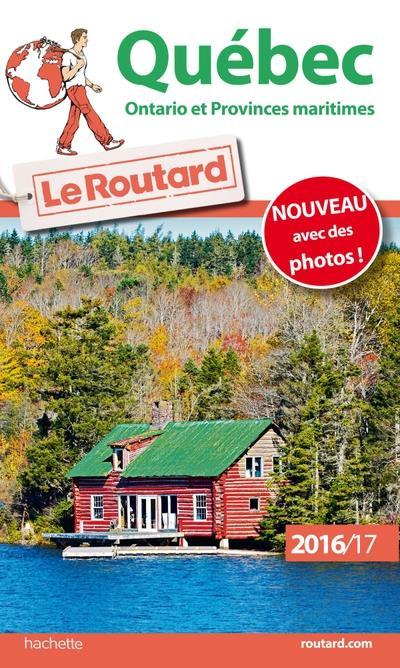 Image accompagnant le produit Guide du Routard Quebec, Ontario et provinces maritimes