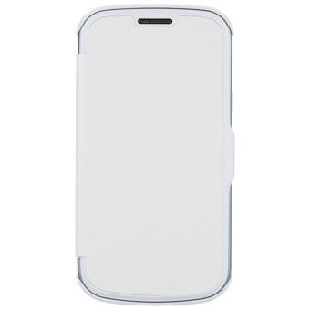 Etui coque anymode folio pour samsung galaxy trend lite - Portable samsung galaxy trend lite blanc ...