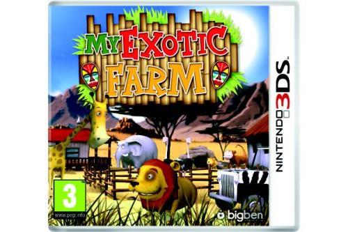 My Exotic Farm 3DS - Nintendo 3DS