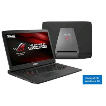 pc portable asus rog g751 jm t3001h 17 3 39 39 tactile. Black Bedroom Furniture Sets. Home Design Ideas