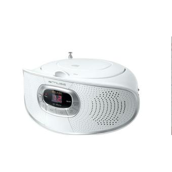 Radio Lecteur K7 CD et MP3 MUSE M20RD BLANC