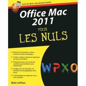 Office 2011 mac edition 2011 broch bob levitus achat livre ou ebook achat prix fnac - Prix pack office pour mac ...