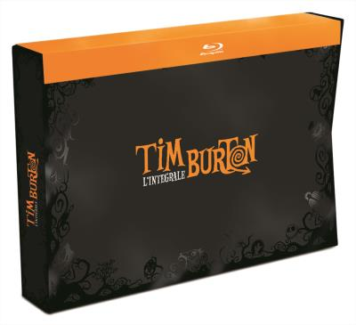 Coffret Tim Burton 17 films Blu-ray