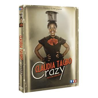 Claudia Tagbo : Crazy DVD DVD Zone 2 Claudia Tagbo Fnac.com