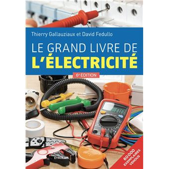 le grand livre de l 39 lectricit broch thierry gallauziaux david fedullo achat livre. Black Bedroom Furniture Sets. Home Design Ideas