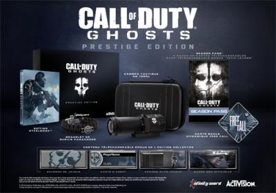Call of Duty Ghosts Edition Prestige PS3 - PlayStation 3