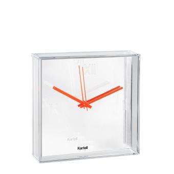 horloge murale tic tac kartell blanche achat prix fnac. Black Bedroom Furniture Sets. Home Design Ideas