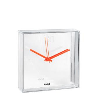 horloge murale tic tac kartell blanche achat prix fnac. Black Bedroom Furniture Sets. Home Design Ideas