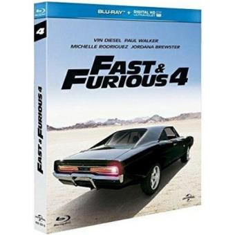 fast and furious 4 blu ray blu ray justin lin vin diesel paul walker. Black Bedroom Furniture Sets. Home Design Ideas