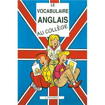 Le vocabulaire anglais au coll ge broch annie spratbrow achat livre achat prix fnac - Vocabulaire anglais vente pret a porter ...