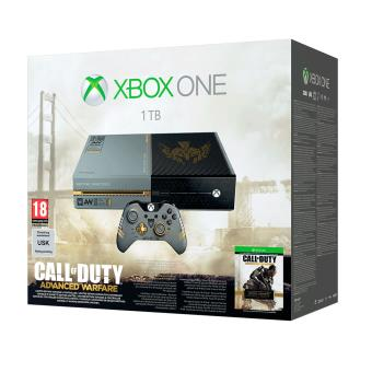 console xbox one collector 1 to call of duty advanced. Black Bedroom Furniture Sets. Home Design Ideas