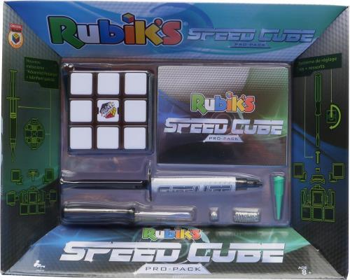 Le Rubik´s cube le plus rapide du monde. Livré avec un tournevis, des ressorts de rechange et un flacon de lubrifiant pour le customizer à la manière des champions. Il est conçu pour battre les records du monde.