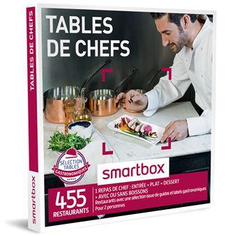 coffret cadeau smartbox tables de chef coffrets cadeaux achat prix fnac. Black Bedroom Furniture Sets. Home Design Ideas