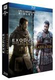 Ridley Scott : Exodus : Gods and Kings + Gladiator - Edition limitée (Blu-Ray)