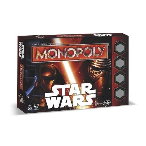 Pars à la conquête de la galaxie avec cette édition spéciale Monopoly STAR WARST ! La figurine de Rey est incluse. Dès 8 ans.