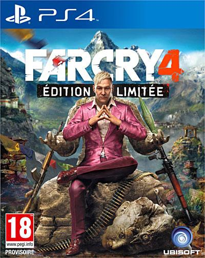 Far Cry 4 Edition Limitée PS4 - PlayStation 4