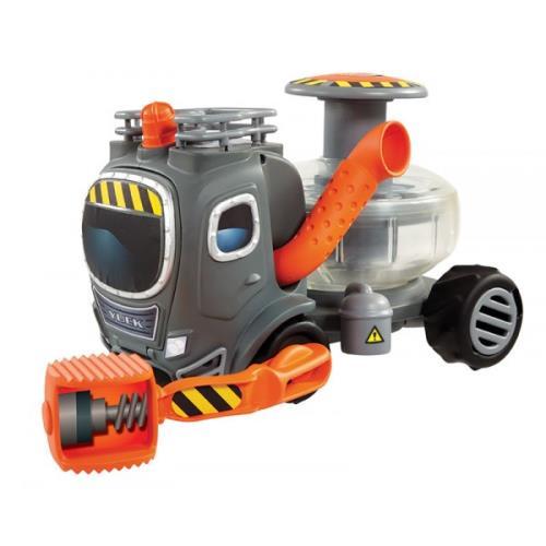 Chaque Bio Buster (chasseur de Funguys) qui se respecte possède son propre Camion Infernal ! Un camion indispensable puisque tu peux capturer les Funguys en les écrasant grâce à l´Écrabouilleur. Emprisonne-les dans les cellules situées au niveau des roues