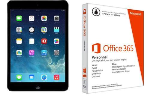 Apple iPad Mini Retina Gris Sideral 7,9 16 Go WiFi Cellular + Office 365