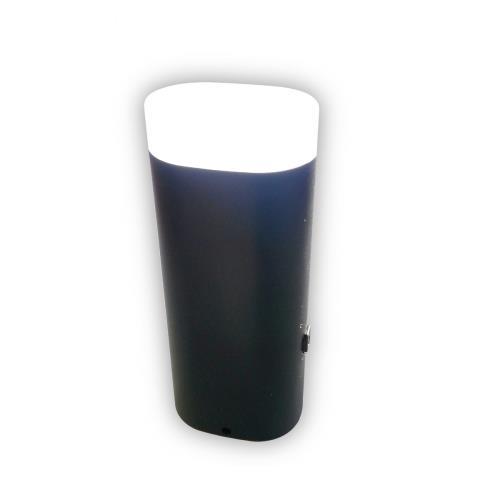 Image accompagnant le produit Batterie nomade 2000 mAh + lampe LED Le Routard Noir