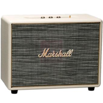 enceinte bluetooth marshall woburn blanc cass mini enceintes top prix sur. Black Bedroom Furniture Sets. Home Design Ideas