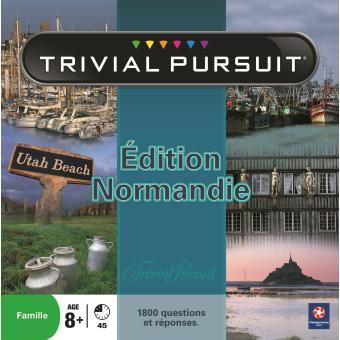 trivial pursuit normandie jeu de culture g n rale achat prix fnac. Black Bedroom Furniture Sets. Home Design Ideas