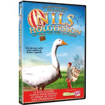 Le Merveilleux voyage de Nils Holgersson au pays des oies sauvages affiche