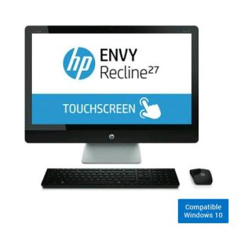 ordinateur hp envy 27 k480nf tout en un 27 tactile pc tout en un achat prix fnac. Black Bedroom Furniture Sets. Home Design Ideas
