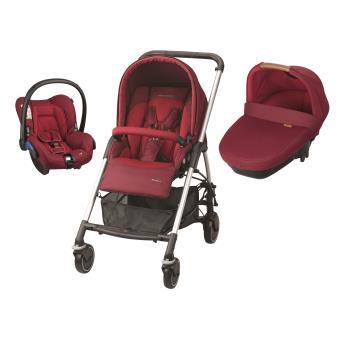 poussette trio streety amber b b confort rouge produits. Black Bedroom Furniture Sets. Home Design Ideas