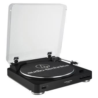 platine vinyle audio technica at lp60usb noire pour microsillons platine d 39 coute achat. Black Bedroom Furniture Sets. Home Design Ideas