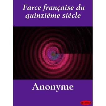 Farce fran aise du quinzi me si cle epub ebookslib for Farcical books