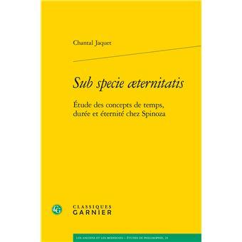 Sub specie aeternitatis