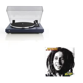 Pack Platine Dual CS440 Bleu + Vinyle Bob Marley