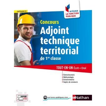 Concours adjoint technique territorial de 1 re classe - Grille indiciaire adjoint technique 1ere classe ...