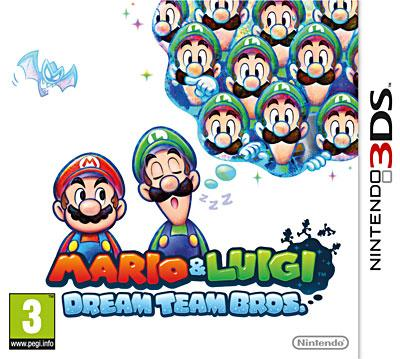 Mario et Luigi - Dream Team - Nintendo 3DS