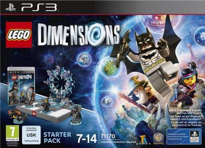 Lego Dimensions pack de démarrage PS3 - PlayStation 3