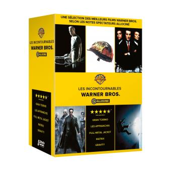 coffret allocin 5 films dvd dvd zone 2 stanley kubrick alfonso cuaron clint eastwood. Black Bedroom Furniture Sets. Home Design Ideas