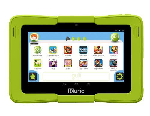 tablette tactile enfant 7 0 by gulli une technologie. Black Bedroom Furniture Sets. Home Design Ideas